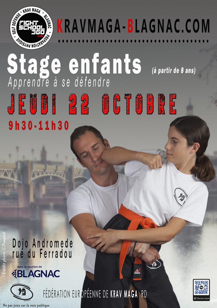 Stage enfant le 22 octobre